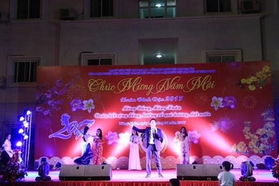 Para diaspora Vietnam di dunia menyongsong Hari Raya Tet - ảnh 1