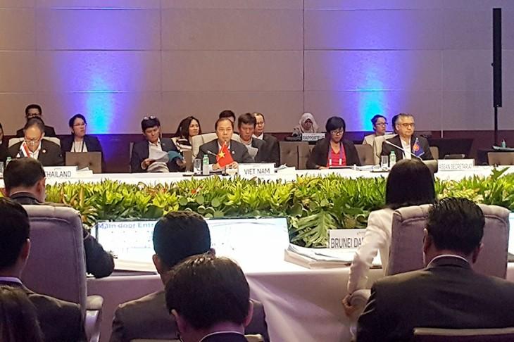 Konferensi para pejabat senior ASEAN (SOM) - ảnh 1