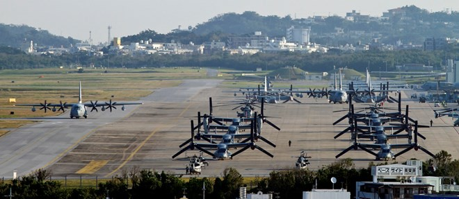 AS mengembalikan sebagian tanah pangkalan militer Okinawa kepada Jepang - ảnh 1