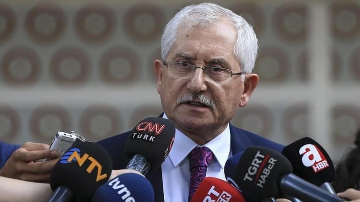 Pemilu Turki 2018: Dewan pemilu tertinggi menunda waktu pengumuman hasil resmi - ảnh 1