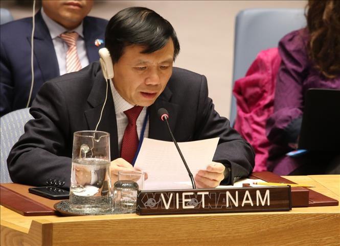 """Viet Nam mendukung """"Mendorong dan menjamin hak manusia"""" di sesi-sesi perbahasan isi agenda dari Komisi 3, MU PBB - ảnh 1"""