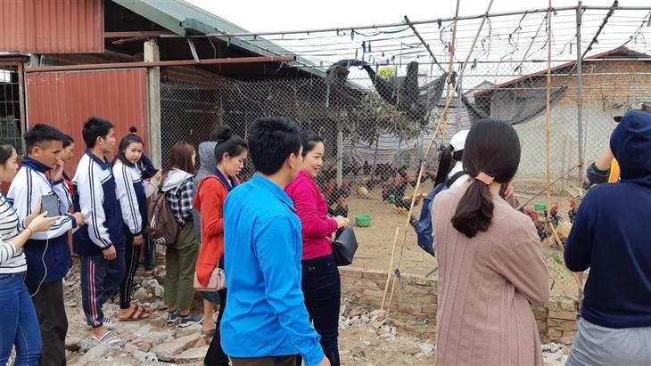 Medote belajar bahasa Vietnam secara berhasil-guna dari para siswa Laos di Sekolah Persahabatan T78 - ảnh 2