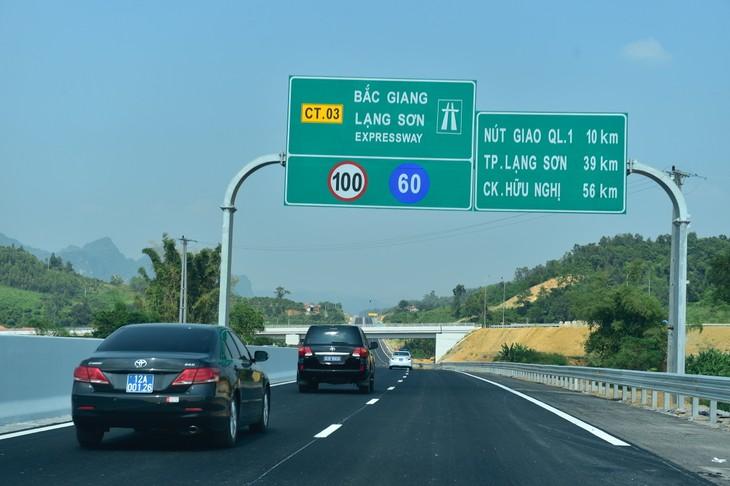 Pembukaan teknis jalan tol Bac Giang – Lang Son - ảnh 1