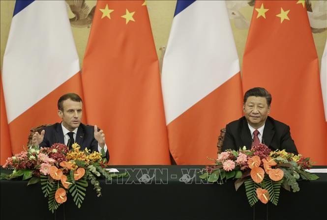 Tiongkok dan Perancis Menegaskan Mendukung Perjanjian Paris tentang Perubahan Iklim - ảnh 1
