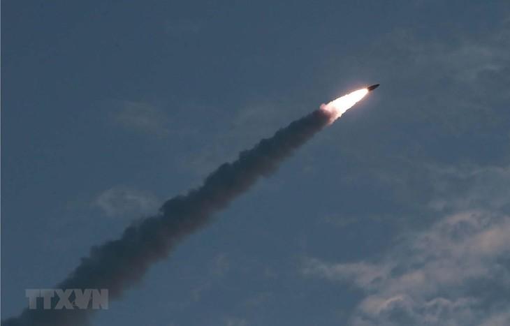 Republik Korea memasok data benda-benda terbang yang baru diluncurkan RDRK - ảnh 1