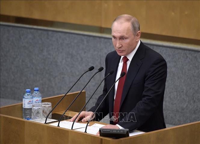 Presiden Vladimir Putin menegaskan bahwa perekonomian Rusia akan muncul lebih kuat - ảnh 1