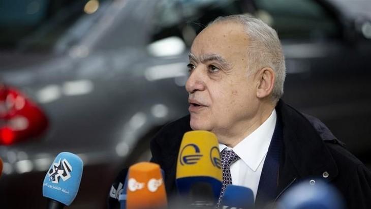Menetapkan waktu penyelenggaraan perundungan-perundingan perdamaian Libia - ảnh 1