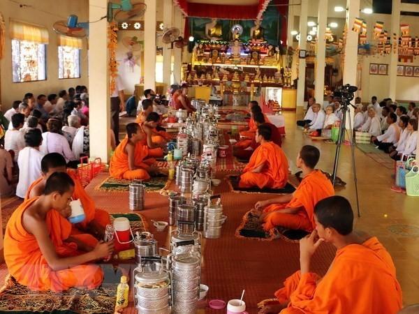 Surat ucapan selamat Hari Raya Chol Chnam Thmay 2020 - ảnh 1