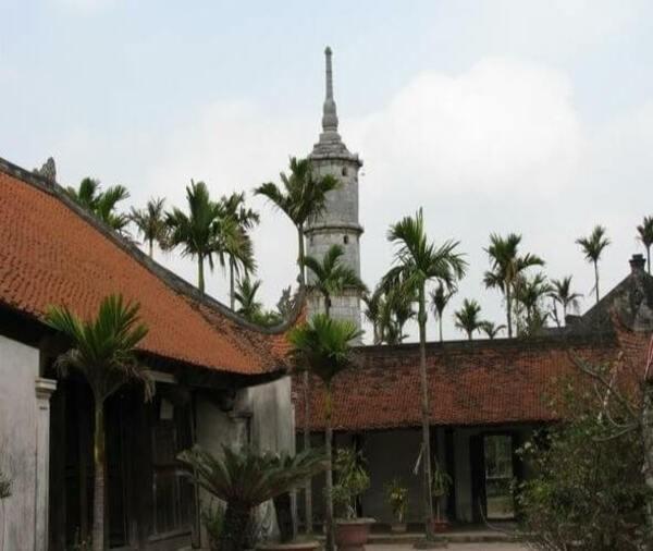 Pagoda But Thap - Karya luar biasa tentang arsitektur dan ukiran - ảnh 1