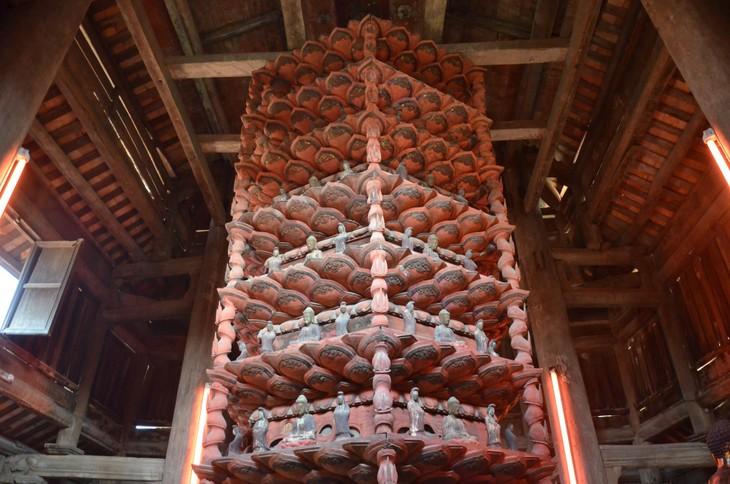 Pagoda But Thap - Karya luar biasa tentang arsitektur dan ukiran - ảnh 2