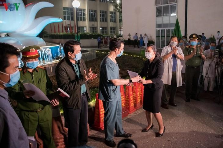 Rumah sakit Bach Mai, Kota Hanoi menyelesaikan waktu isolasi - ảnh 1