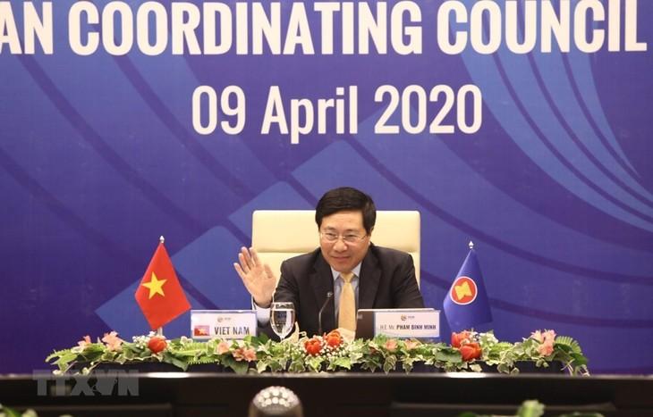 ASEAN 2020: Kerjasama ASEAN dalam memundurkan wabah Covid-19 - ảnh 1