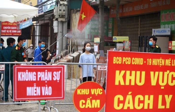 Bertambah lagi 2 orang di desa Ha Loi, Kota Ha Noi yang terinfeksi Covid-19 - ảnh 1