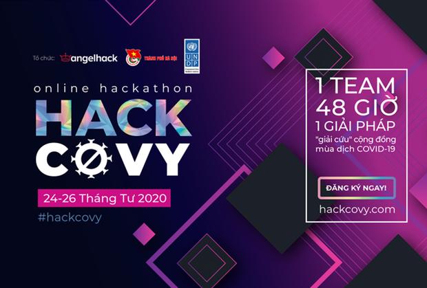 """""""Hack Covy 2020"""" merupakan arena main menciptakan solusi teknologi - ảnh 1"""