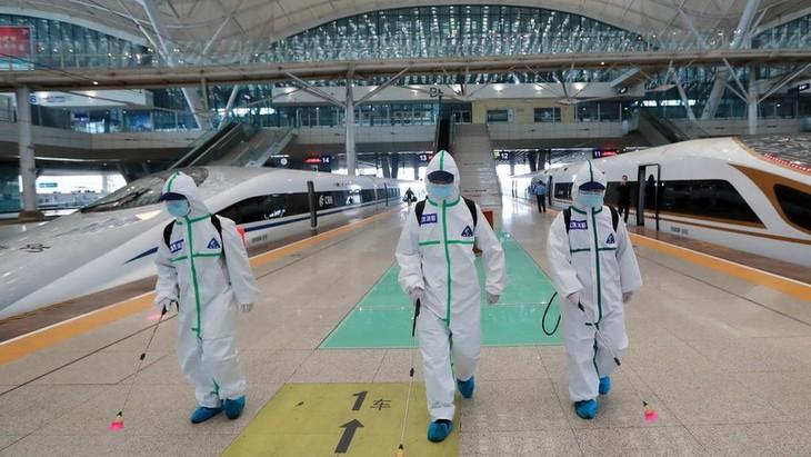 Kota Wuhan (Tiongkok) menemukan ratusan kasus yang terinfeksi Covid-19 tanpa gejala - ảnh 1