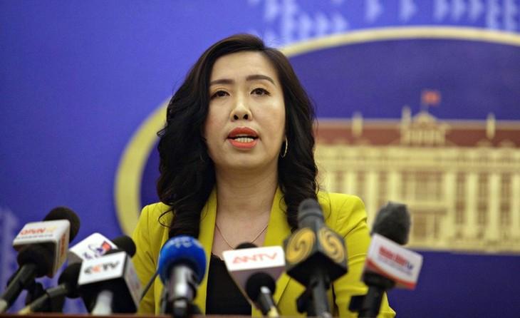 Vietnam memantau secara ketat perkembangan-perkembangan di Laut Timur - ảnh 1