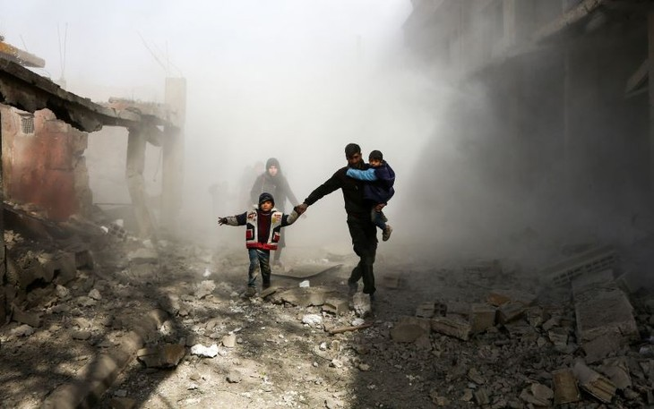 DK PBB mengadakan sidang secara daring tentang masalah senjata kimia di Suriah - ảnh 1
