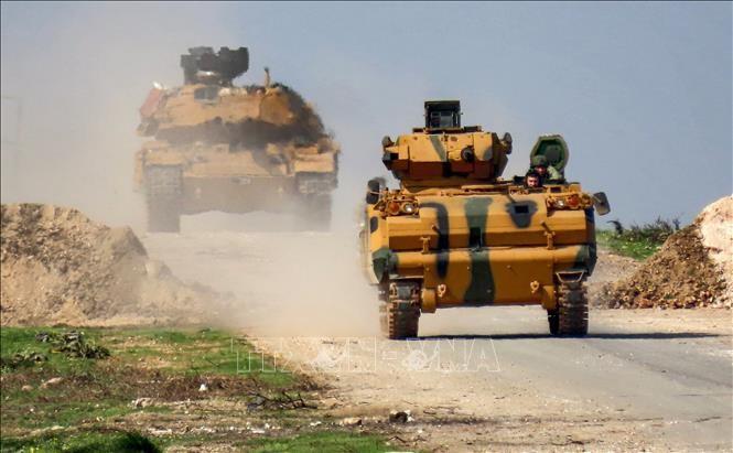 Rusia dan Turki terus melakukan patroli gabungan di Provinsi Idlib, Suriah - ảnh 1