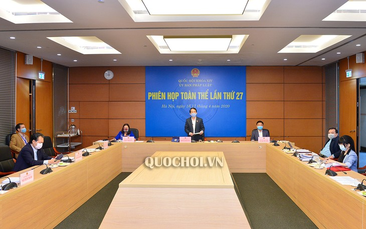 Pembukaan persidangan ke-27 Komisi Perundang-undangan MN - ảnh 1