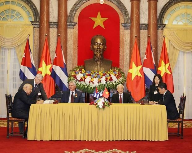 Perjanjian Perdagangan Vietnam – Kuba menjadi efektif - ảnh 1