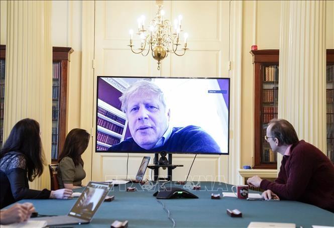 Inggris mengesahkan rencana penyelenggaran rapat parlemen melalui video - ảnh 1