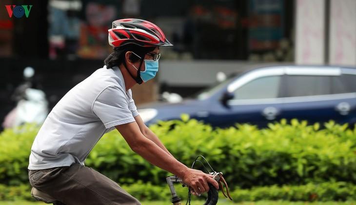 Satu Kota Da Nang yang dinamis sekarang sunyi senyap di tengah pandemi Covid-19 - ảnh 12