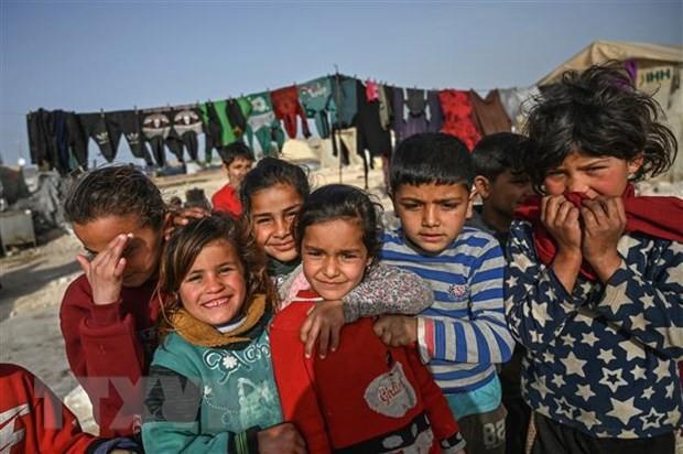 UNICEF mendesak pembentukan dana bantuan untuk anak-anak di negara-negara Timur Tengah dan Afrika Utara - ảnh 1