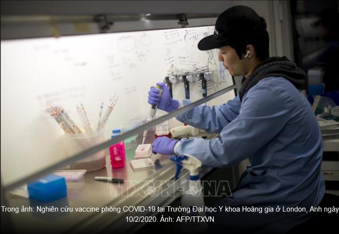 Inggris mulai menguji vaksin Covid-19 pada manusia - ảnh 1