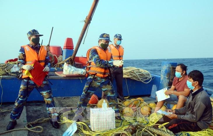 Pemeriksaan usaha gabungan perikanan Vietnam – Tiongkok kali pertama tahun 2020 berakhir dengan baik - ảnh 1