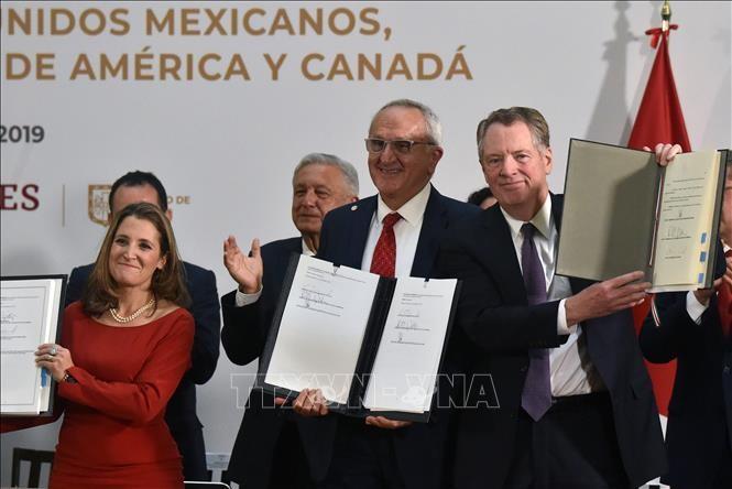 AS mengumumkan waktu penggelaran Perjanjian USMCA - ảnh 1
