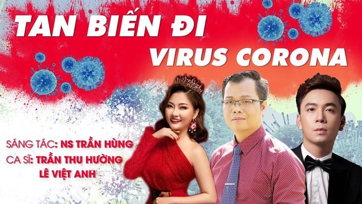 Lagu dan suara nyanyi turut memundurkan pandemi Covid-19 - ảnh 2
