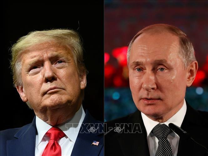 "Presiden Rusia – AS mengeluarkan pernyataan bersama yang menonjolkan semangat ""pertemuan sungai Elbe"" pada 75 tahun yang lalu - ảnh 1"