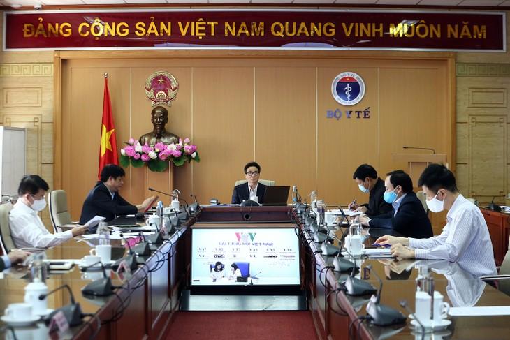 Vietnam berhasil meneliti spesimen plasma darah untuk menyaring virus SARS-CoV-2 - ảnh 1