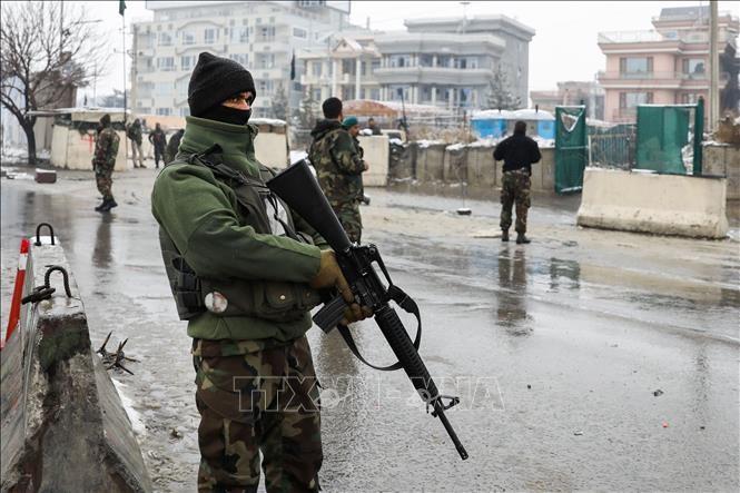 """Pentagon memperingatkan akan """"memberikan reaksi"""" kalau Taliban terus meningkatkan kekerasan di Afghanistan - ảnh 1"""