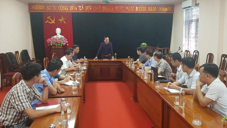 Provinsi Bac Giang menyosialisasikan secara online buah leci ke pasar Singapura - ảnh 1