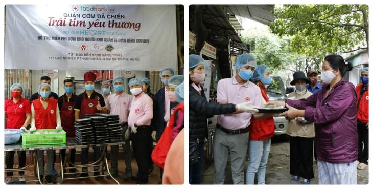 Komunitas orang Thailand di Vietnam bersinergi dengan Vietnam melawan wabah Covid-19 - ảnh 1