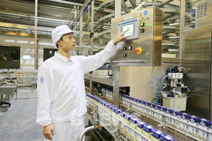 Susu Vinamilk masuk ke pasar Republik Korea - ảnh 1