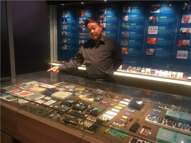 Museum Teknologi Informasi Swasta Pertama di Vietnam Memotivasi Kalangan Pemuda - ảnh 1