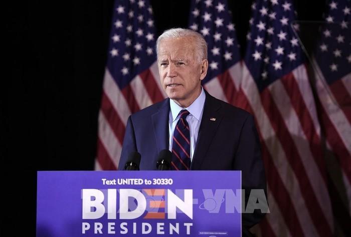 Joe Biden merebut cukup jumlah suara untuk menjadi calon Partai Demokrat - ảnh 1