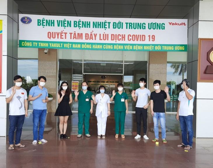 Ada lagi 9 pasien Covid-19 di Vietnam yang sembuh - ảnh 1