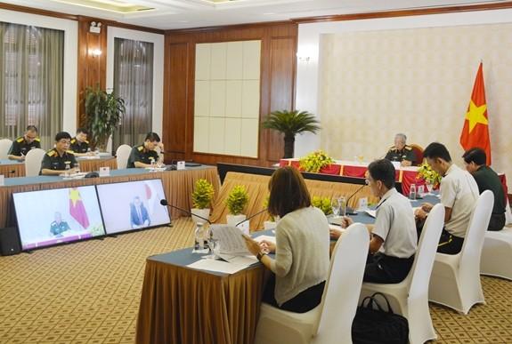 Mendorong aktivitas-aktivitas kerjasama pertahanan antara Vietnam dan Jepang - ảnh 1