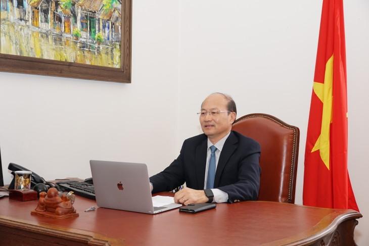 Vietnam berbagi pengalaman penerapan teknologi nuklir dalam menghadapi wabah Covid-19 - ảnh 1