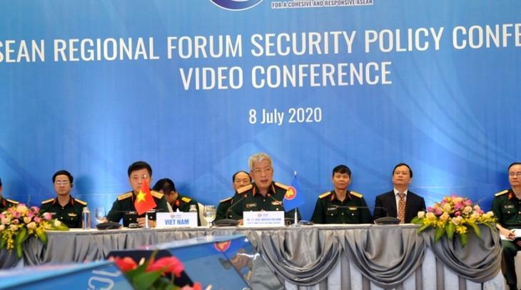 ASEAN dan mitra mendorong penegakan kepercayaan, membentuk ketertiban di kawasan berdasarkan pada hukum - ảnh 1