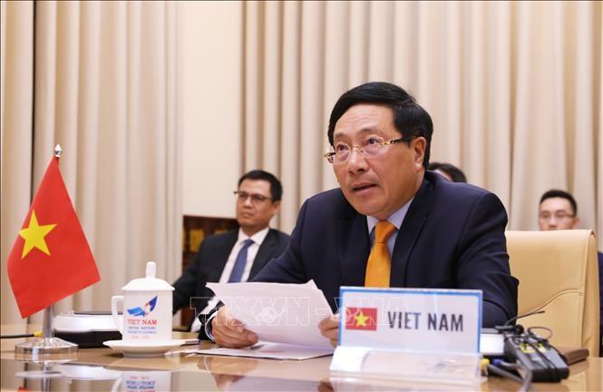 Vietnam menegaskan peran proaktif dan aktif dalam DK PBB - ảnh 1