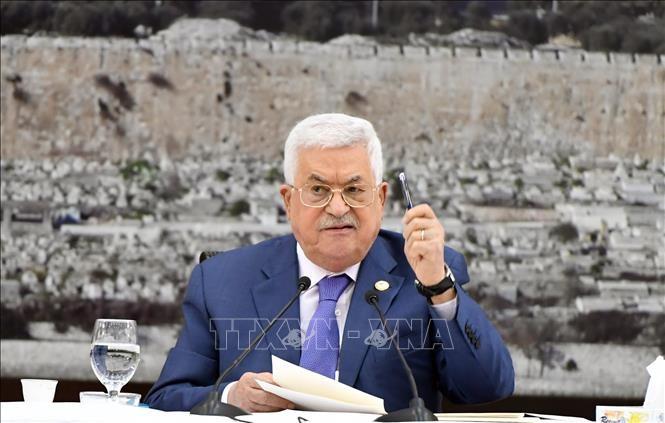 Presiden Palestina mengajukan persyaratan untuk melakukan kembali perundingan damai dengan Israel - ảnh 1
