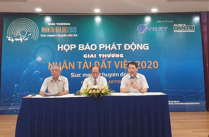 Penghargaan Talenta Bumi Viet 2020 berfokus pada transformasi digital - ảnh 1