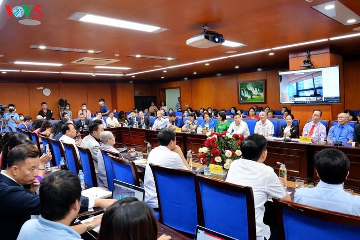 "Forum virtual: ""Perjanjian EVFTA: Jalan kemenangan - jalan kesulitan""  - ảnh 2"