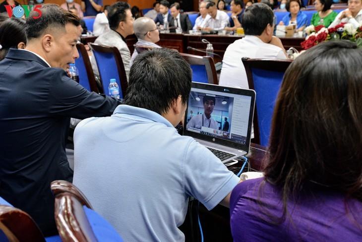"Forum virtual: ""Perjanjian EVFTA: Jalan kemenangan - jalan kesulitan""  - ảnh 3"