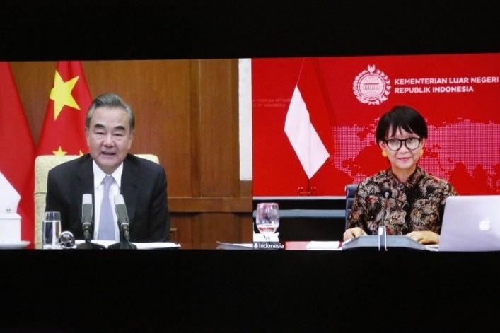Indonesia mendesak kepada Tiongkok supaya menghormati UNCLOS - ảnh 1