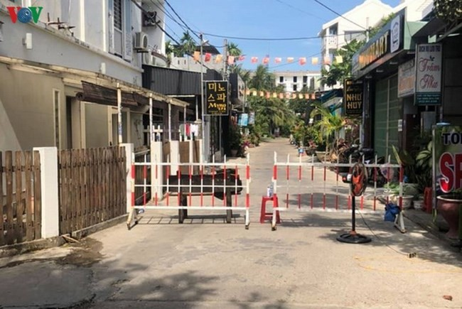 Kota Hoi An memikirkan kehidupan setiap kepala keluarga di sektor jalan yang diblokade - ảnh 1